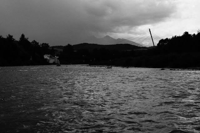 Burza nad Tatrami. fot. Łukasz Cyrus