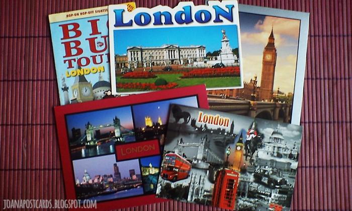 London - wymiana pocztówek