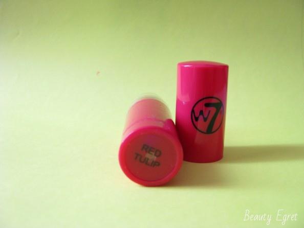 Помада W7 Butter Kiss Lipstick, оттенок Red Tulip