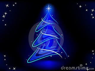 http://pt.dreamstime.com/foto-de-stock-%C3%A1rvore-de-natal-abstrata-com-azul-ilumina-estrela-image16917970