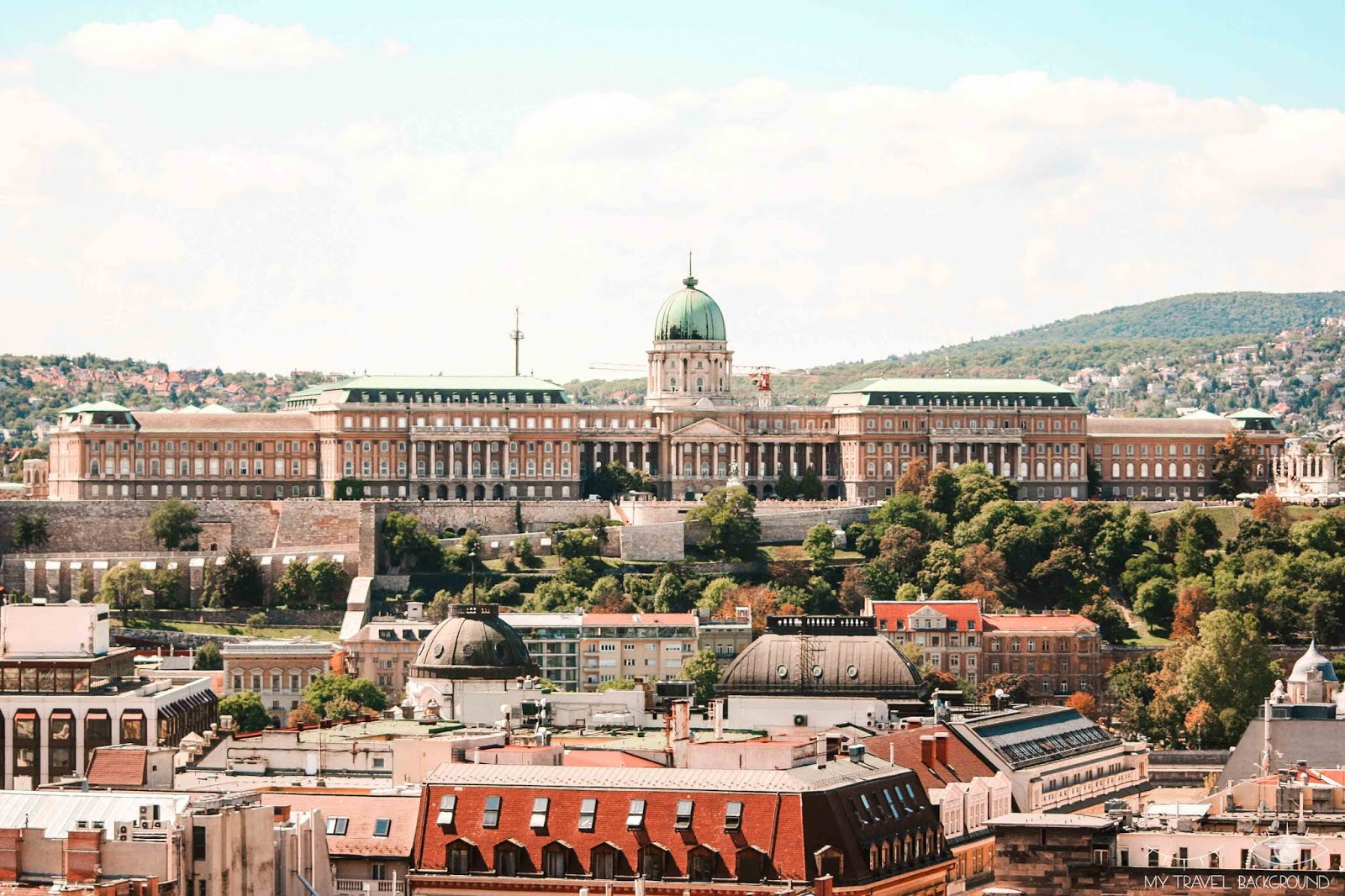My Travel Background : 1 week-end à Budapest en Hongrie - Le Chateau de Budapest