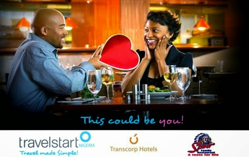Win a Valentine trip to Calabar for you and your love for 2 nights at Transcorp Hotels in Calabar.