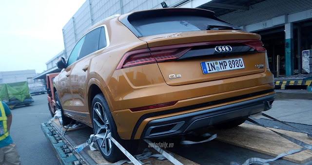 Audi Q8 2019 đầu tiêm về Việt Nam bằng máy bay