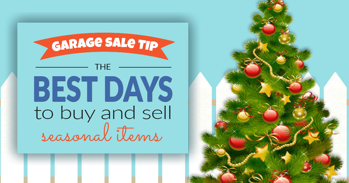 Seasonal Garage Sale Items Price Guide & Tips