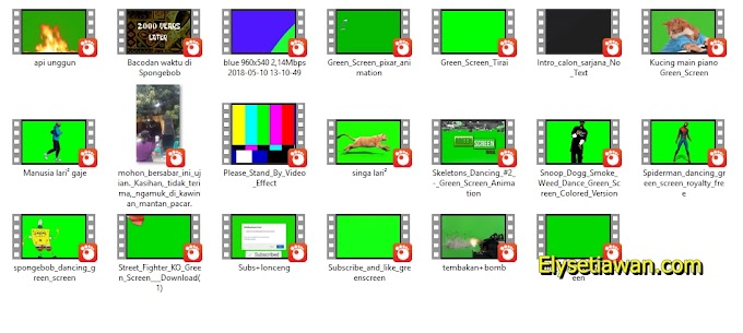 BAHAN Video Editing youtuber, Memes, Green Screens, Sound Effects, Presets untuk edit youtuber