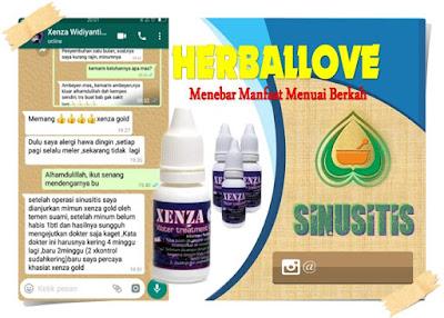 Testimoni Xenza Gold Untuk Sinusitis herballove.co