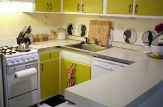 افكار لترتيب المطبخ الضيق