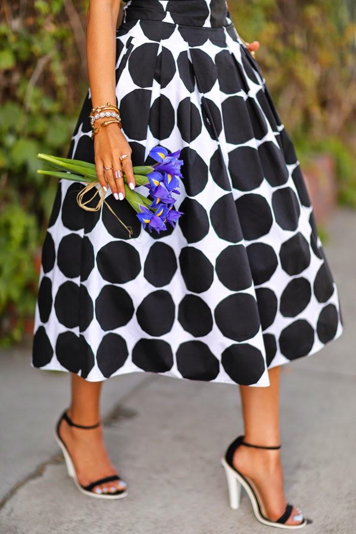 Vivaluxury Fashion Blog By Annabelle Fleur Pearls Amp Polka Dots Banana Republic X Marimekko