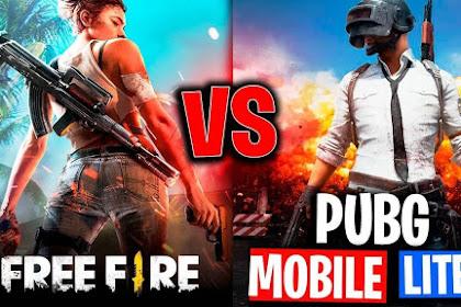 Inilah Perbedaan PUBG vs Free Fire Yang Perlu Kamu Tahu!