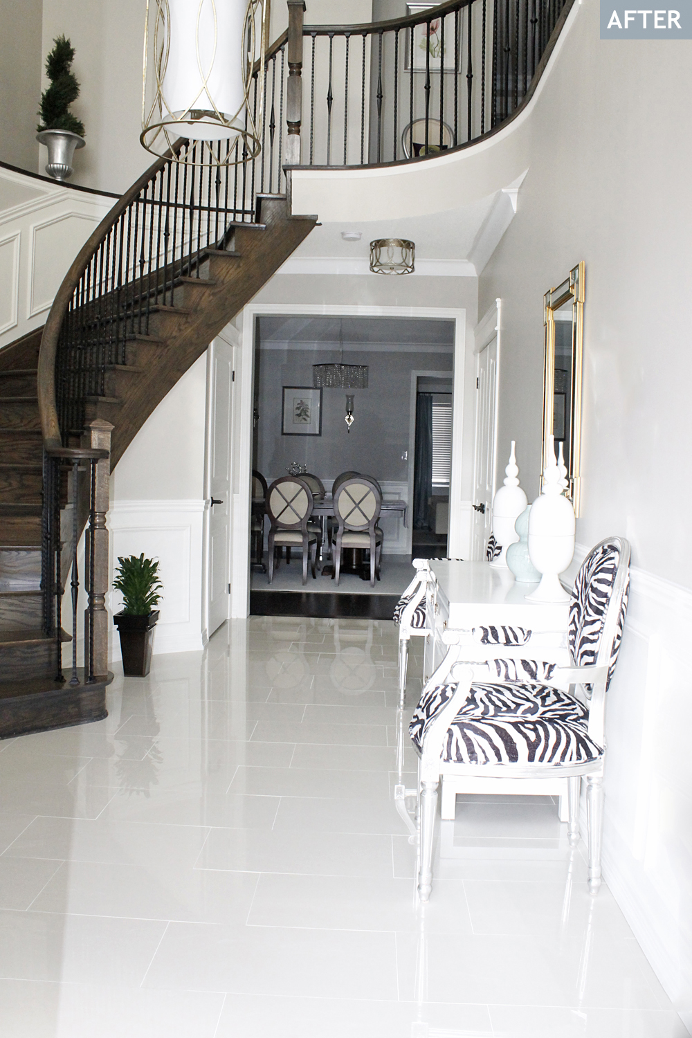 Am Dolce Vita Foyer Tile And Rug