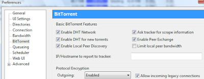 Πως να αυξήσετε την ταχύτητα του uTorrent 4