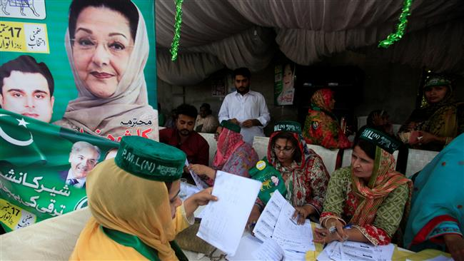 Pakistani Kulsoom Sharif wins key vacant parliament seat in Lahore