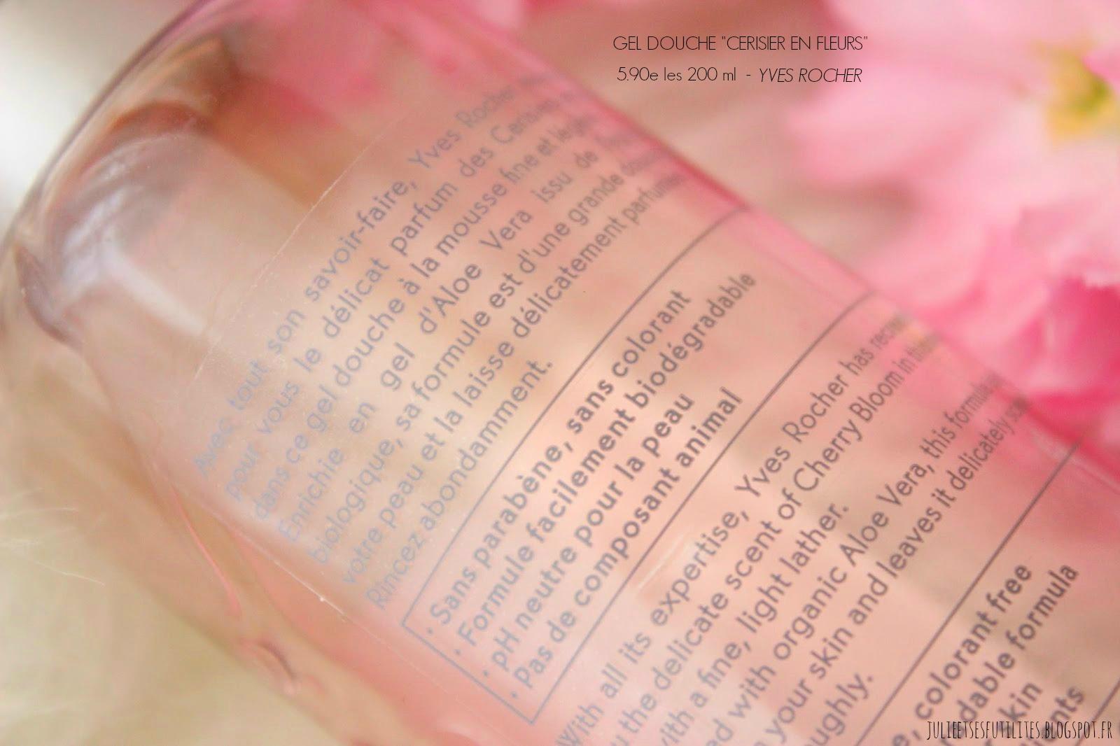 Toute La Delicatesse Du Parfum Des Cerisiers En Fleurs Avec Yves
