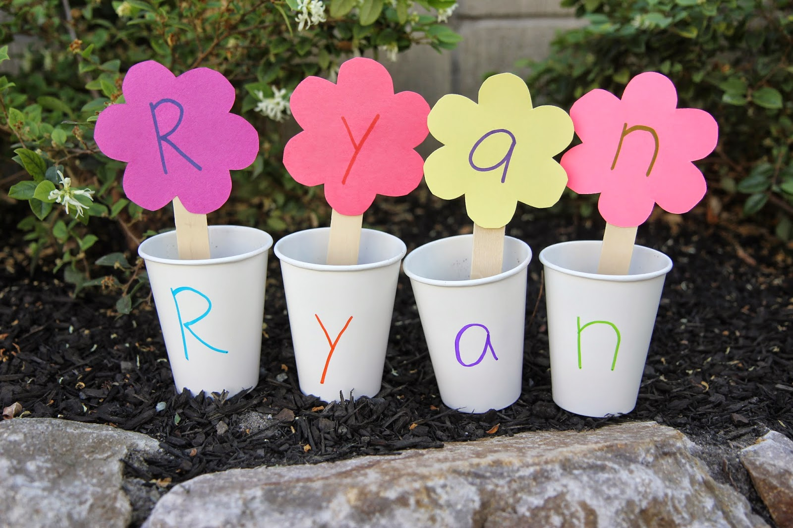 Toddler Approved 2 Spring Themed Name Recognition