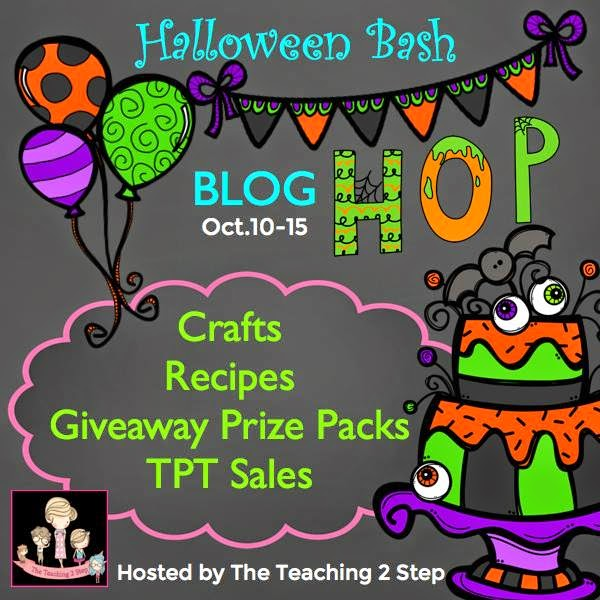 Halloween Blog Bash by Teaching the 2 Step