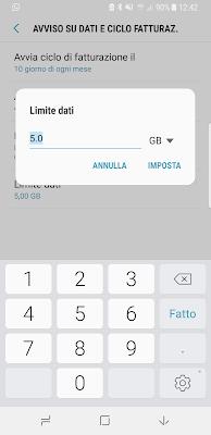 Come impostare limite consumo dati smartphone Android: TUTORIAL