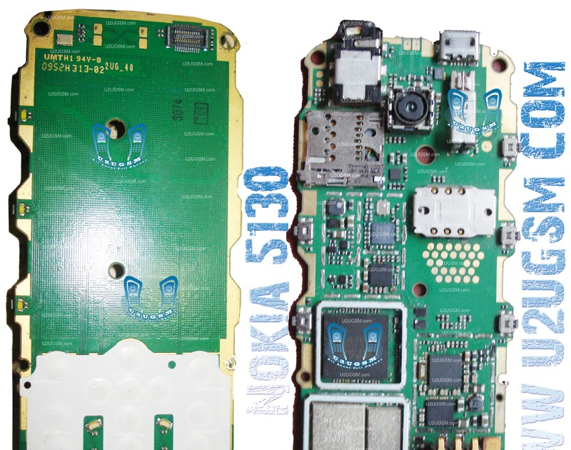 TELENET MULTIMEDIA: Nokia5130FullPCBDiagramMother