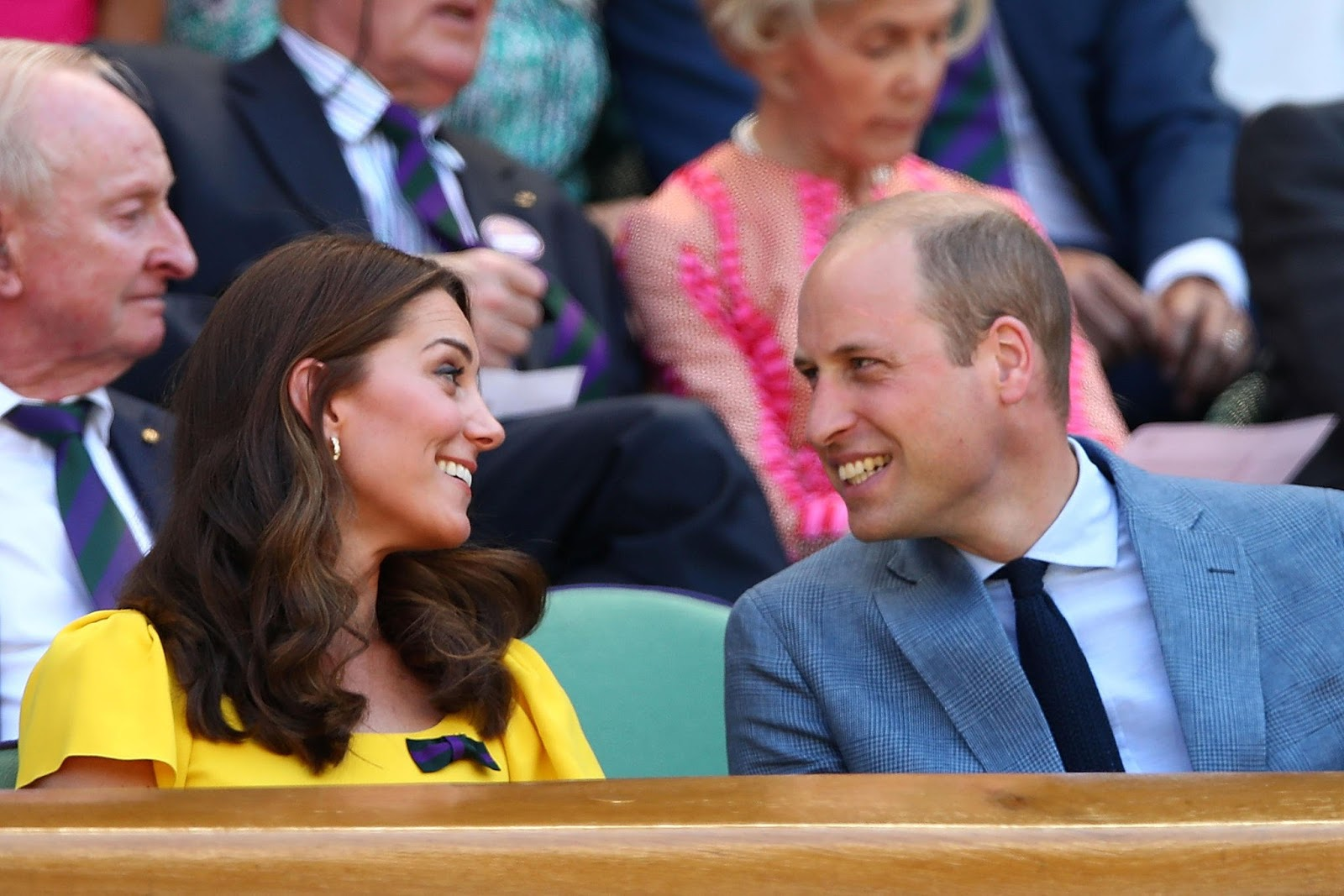 Kate Middleton brings sunshine to the Wimbledon Men's Final 2018