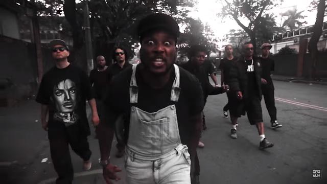 """Nabil lança o clipe """"Toussaint"""" (Eles mataram um homem negro ali)"""