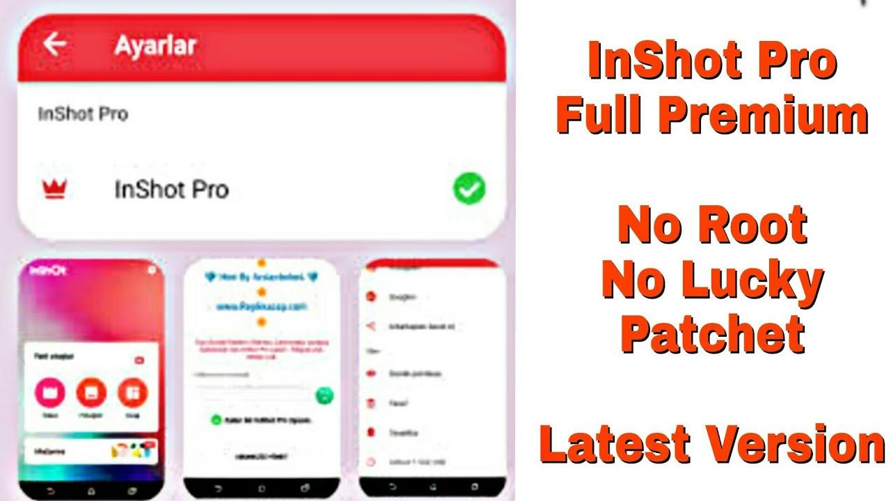 InShot 1.562.208 Full Premium Apk (Pro/Paid) - No Crop | No Root | No Lucky Patcher |[App PREMIUM]
