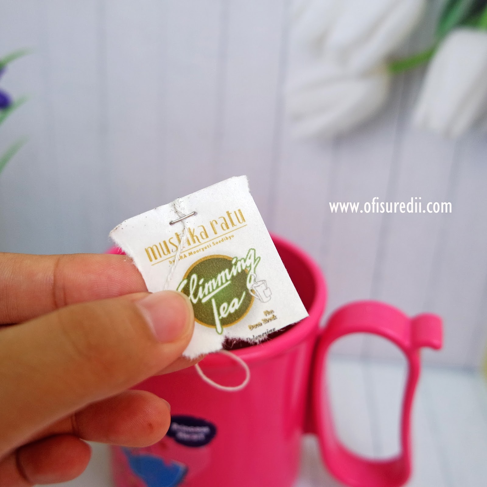 Review Slimming Tea Mustika Ratu - ofisu redii