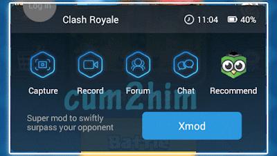 Cara Menggunakan XModGames Clash Royale