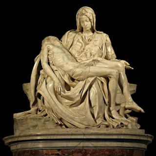 Michelangelo's masterpiece, La Pietà
