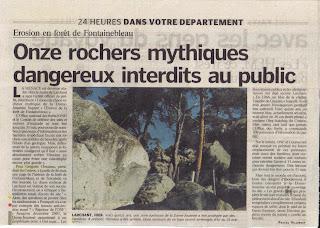 """Résultat de recherche d'images pour """"érosion fontainebleau"""""""