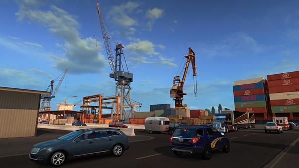 American Truck Simulator Oregon PC Game