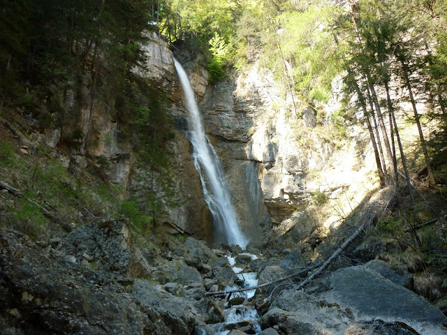 escursione cascata ru de assola borca di cadore