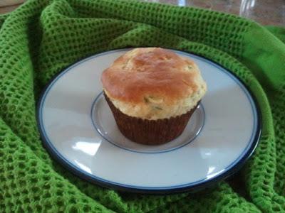 Zucchini-Lemon Muffin