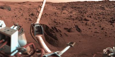 لحياة على كوكب المريخ