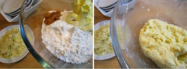Pastas de coco y almendra (Siempredulces) - Elaboración Paso 1