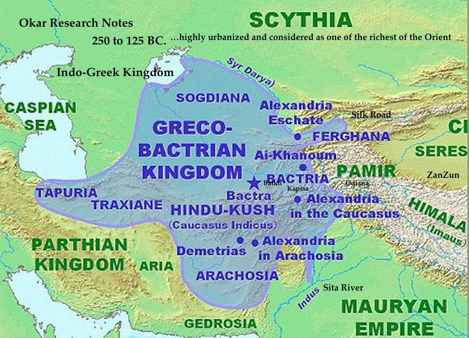 Okar Research Greek Bactrian Buddhism 200 Bc