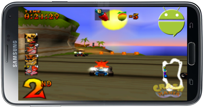 تحميل لعبة كراش سباق Crash Team Racing للاندرويد apk بحجم صغير