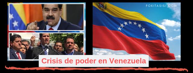 (Imagen) ¿Quién es el verdadero Presidente de Venezuela? Este 23 de enero 2019 en Noticias de Venezuela luego de la juramentación en Cabildo abierto del diputado de Voluntad Popular Juan Guiadó como Presidente Interino