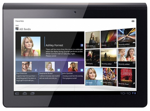Sony Tablet S receives Android 4.0.3 Ice Cream Sandwich