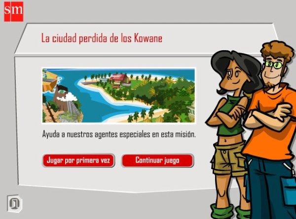 """""""La ciudad perdida de los Kowane"""" (Aventuras interactivas de Matemáticas de 6º de Primaria)"""