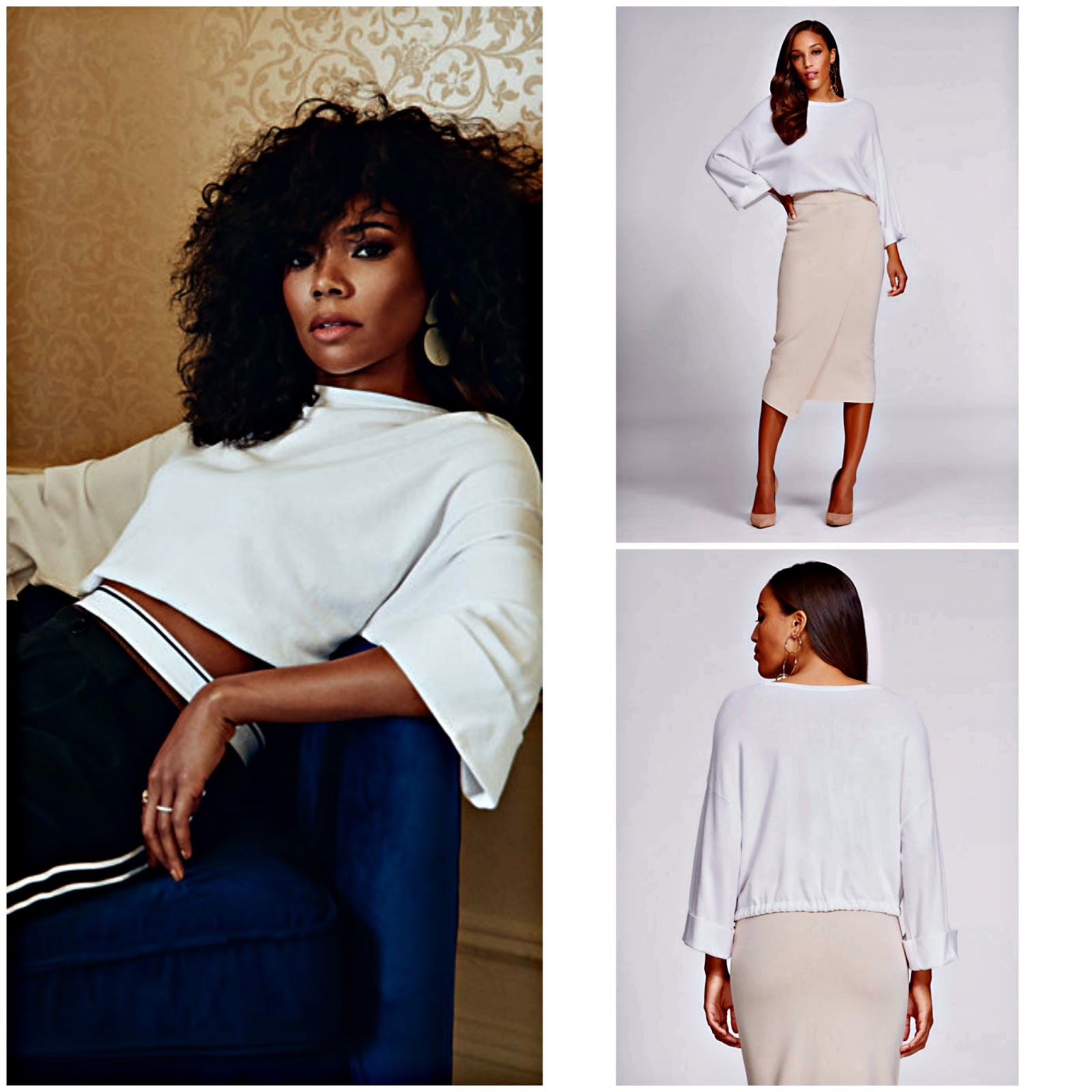 Click here to buy DRAWSTRING CROP SWEATER, to dress up or down this fall