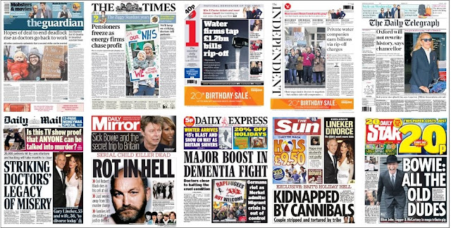 Front pages 13-01-16