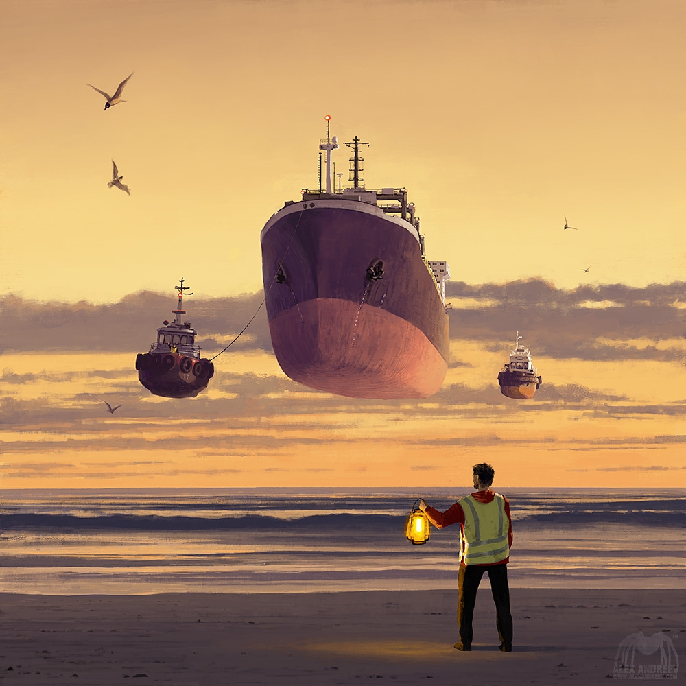 03-Beacon-Alex-Andreyev-Surreal-Paintings-or-a-Vision-of-the-Future-www-designstack-co
