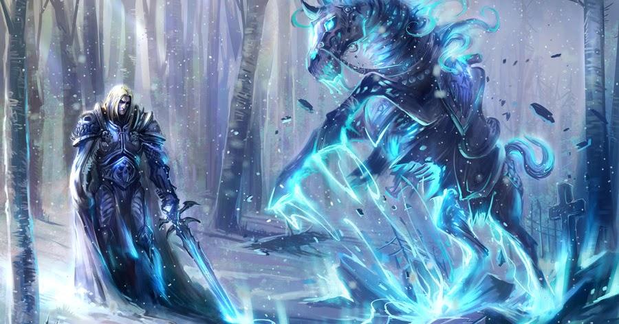 World Of Warcraft Lich King Mount Wallpaper Wallpaper202