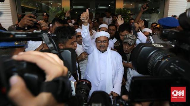 Mardani Ali Temui HRS di Makkah: Semangatnya Masih Tinggi