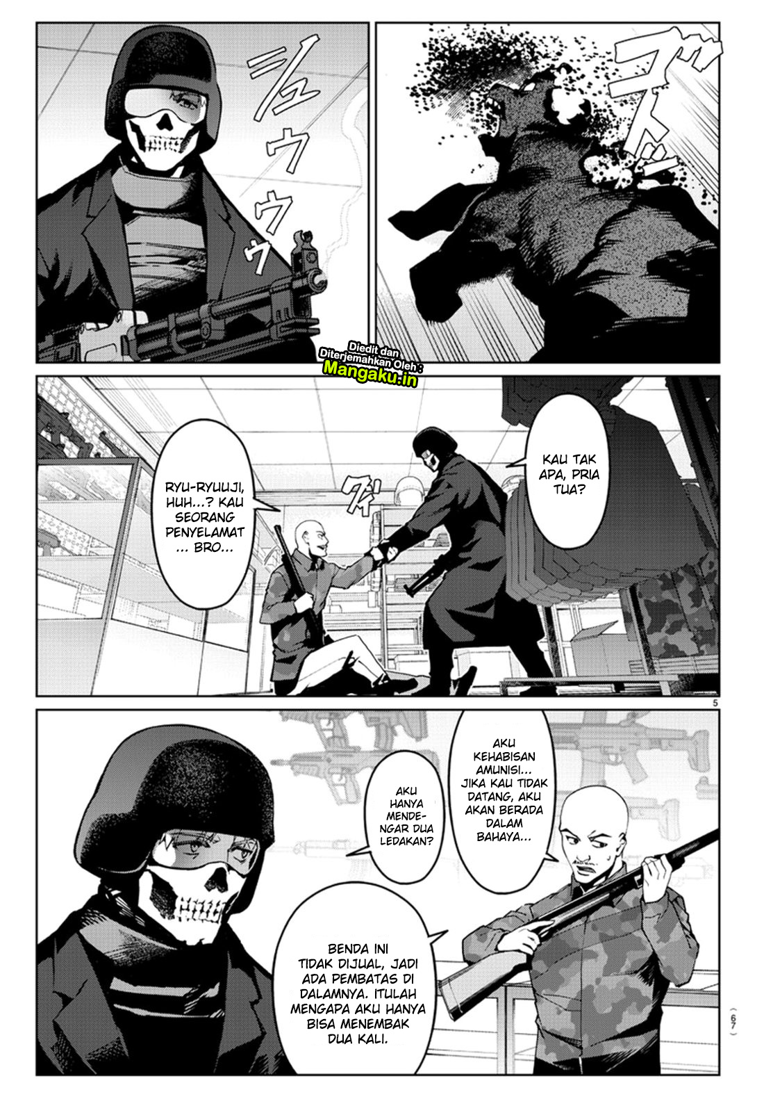 Darwin's Game Chapter 71-7