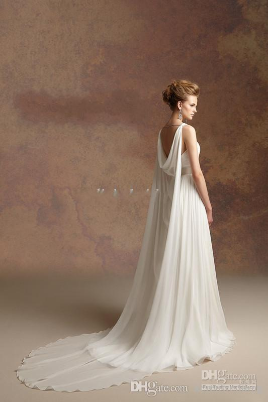In Regard To Special Concept Of Greek Goddess Look Bridal Wedding Gown For Beach Party Ought Be Flawless Dress