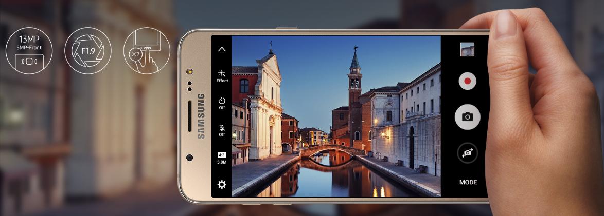Samsung Galaxy J7: Scheda tecnica, Prezzo e Caratteristiche