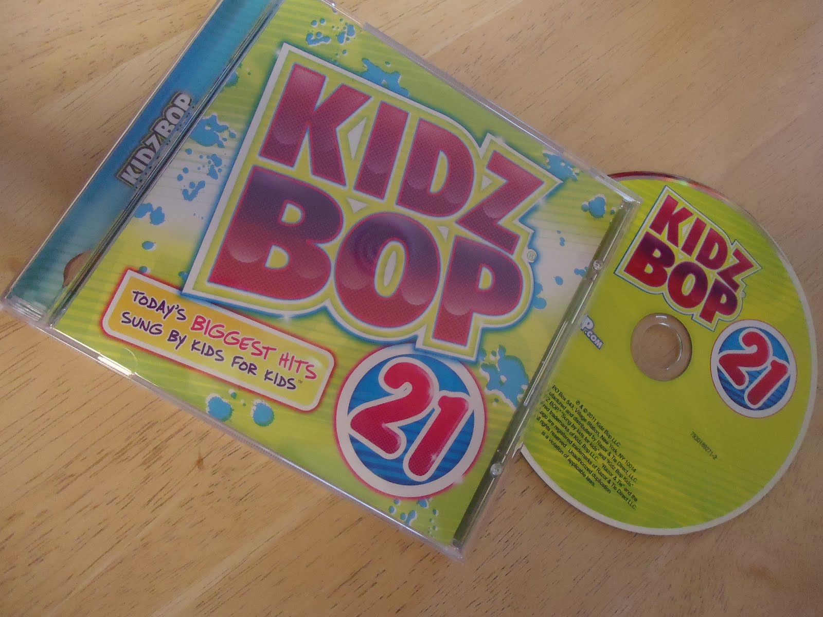 Running Diva Mom Kidz Bop 21 Cd Winner