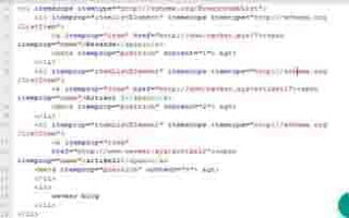 contoh html schem.org