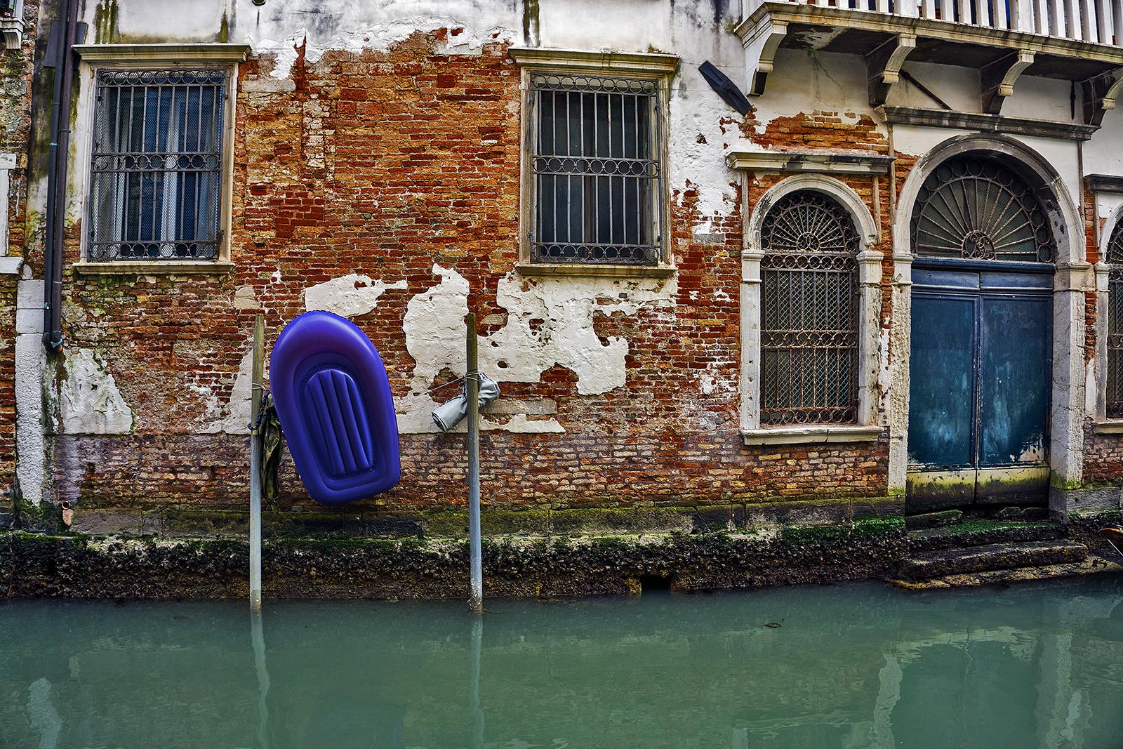Boat in Venice Italy