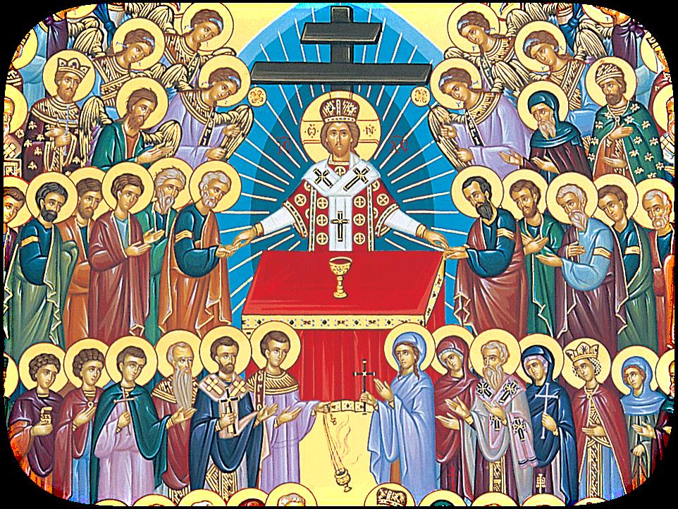 All Saints Sunday Worship Graphics